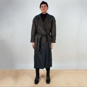 Other - Vintage Iridescent Trench Coat